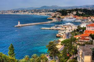 Фото бесплатно Ницца, Франция, Прованс