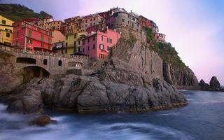 Заставки море, побережье, скалы