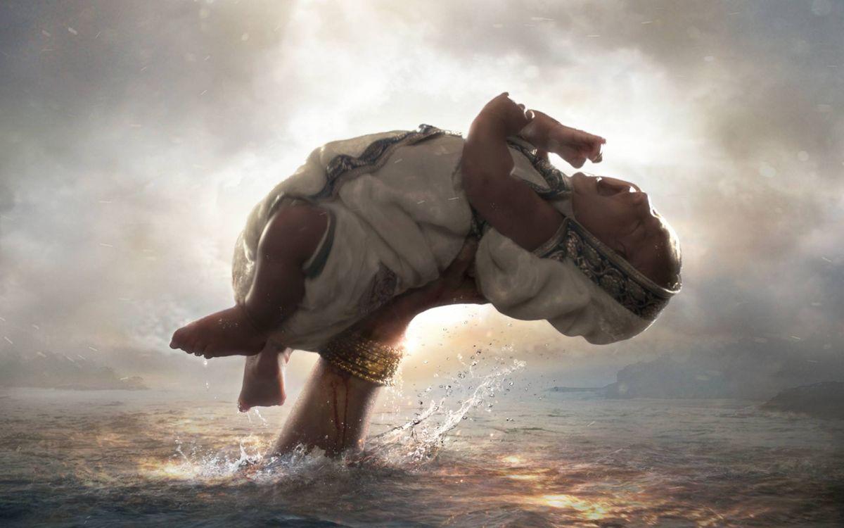 Фото бесплатно Бахубали, ребенок, рука из океана - на рабочий стол