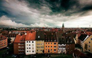Бесплатные фото дома,здания,окна,крыши,улицы,небо,облака