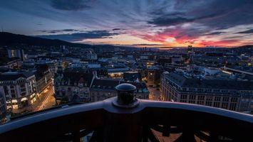 Фото бесплатно Швецария, Цюрих, балкон