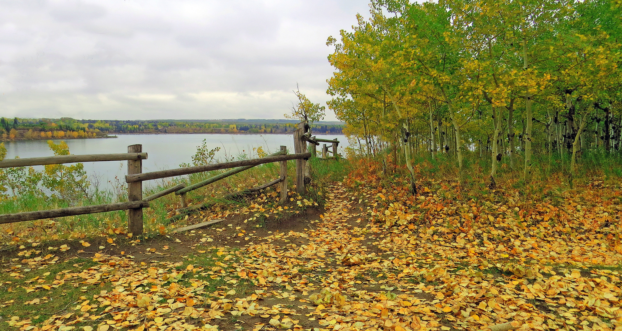 обои Heritage Park, Калгари, Альберта, озеро картинки фото