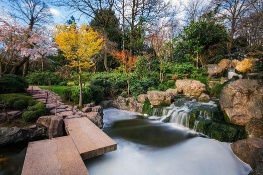 Photo free landscape, Japanese Garden, pond