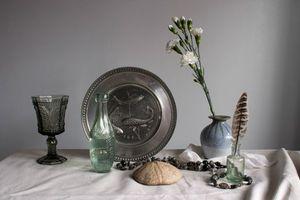Фото бесплатно ваза, цветок, блюдо, натюрморт