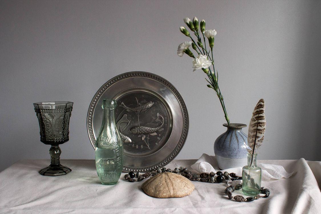 Фото бесплатно ваза, цветок, блюдо - на рабочий стол