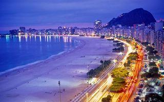 Бесплатные фото ночь,море,побережье,пляж,дорога,автомобили,фонари
