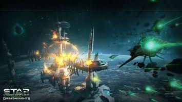 Обои Star Conflict, онлайн игра, action, MMO SPACE ACTION, космос, Gaijin Entertainment, MMO