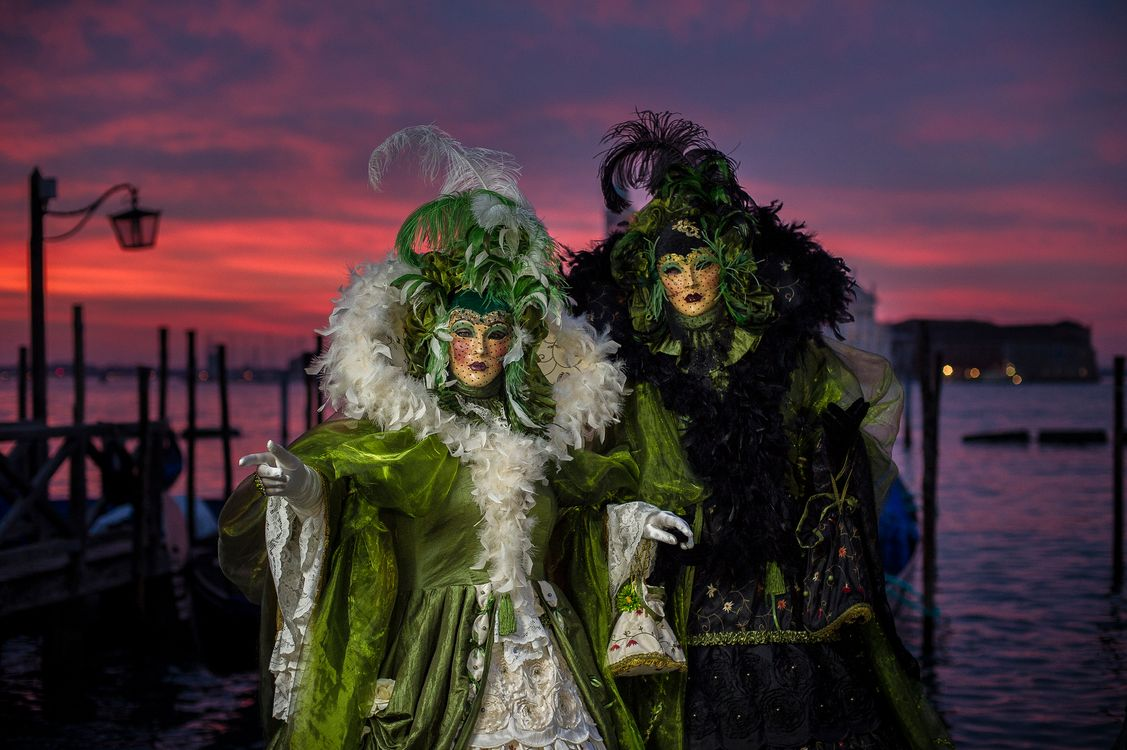 Фото бесплатно костюмы, праздник, карнавал в венеции - на рабочий стол