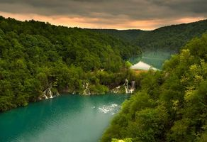 Фото бесплатно Plitvice Lakes National Park, Croatia, река