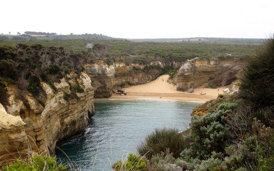 Фото бесплатно море, бухта, песок