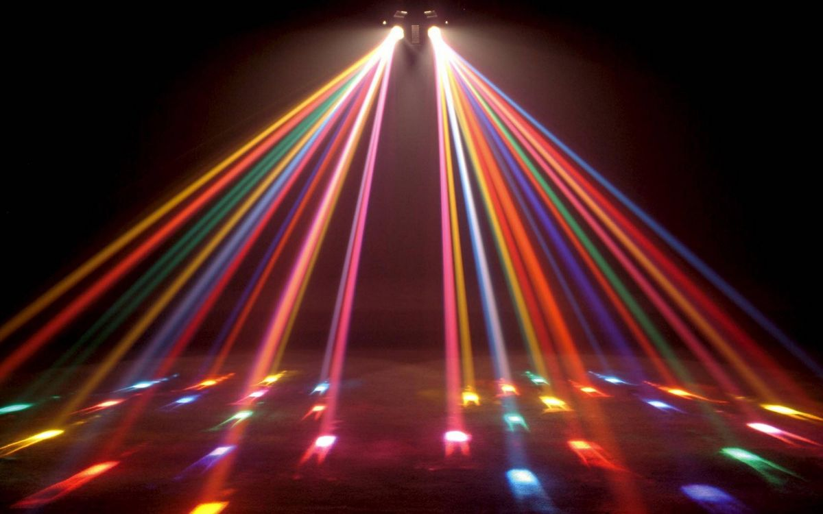 Цветомузыка на дискотеку