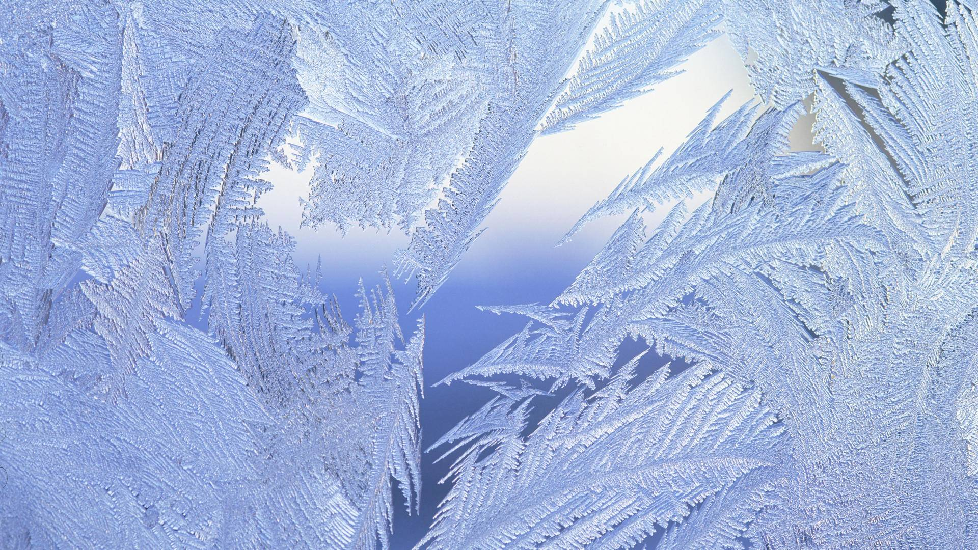 зима, поверхность, мороз