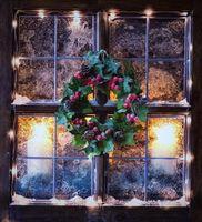 натюрморт, Светодиодные фонари, гирлянды, Рождество, Свечи