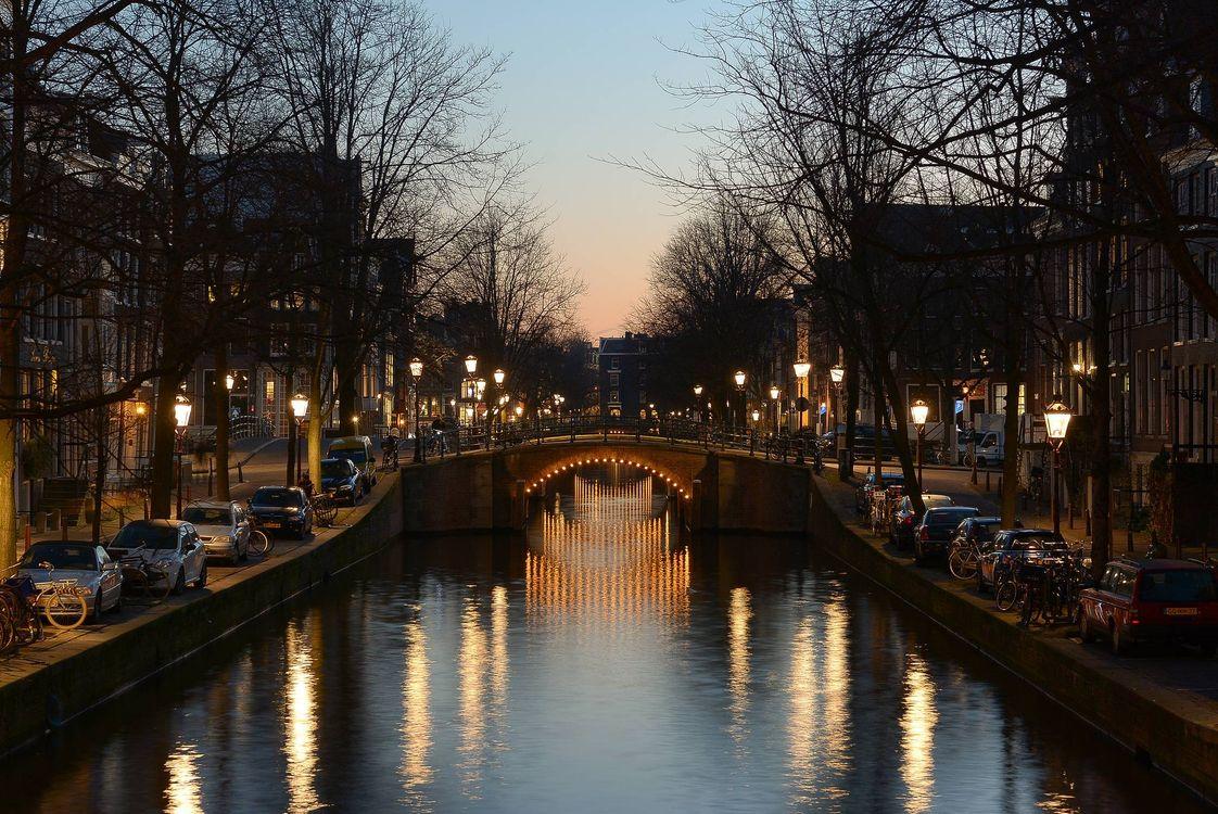 Заставки на тему столица и крупнейший город нидерландов, амстердам