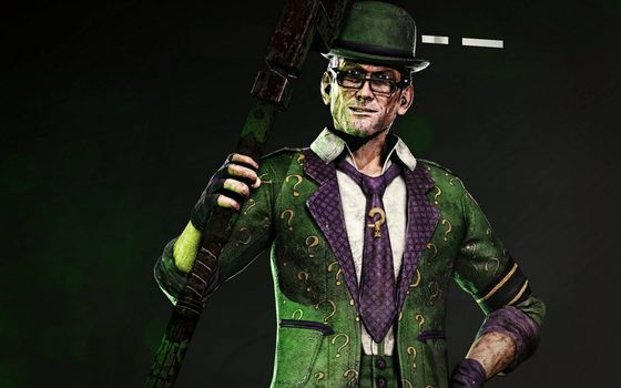 Photo free Riddler, supervillain costume, green