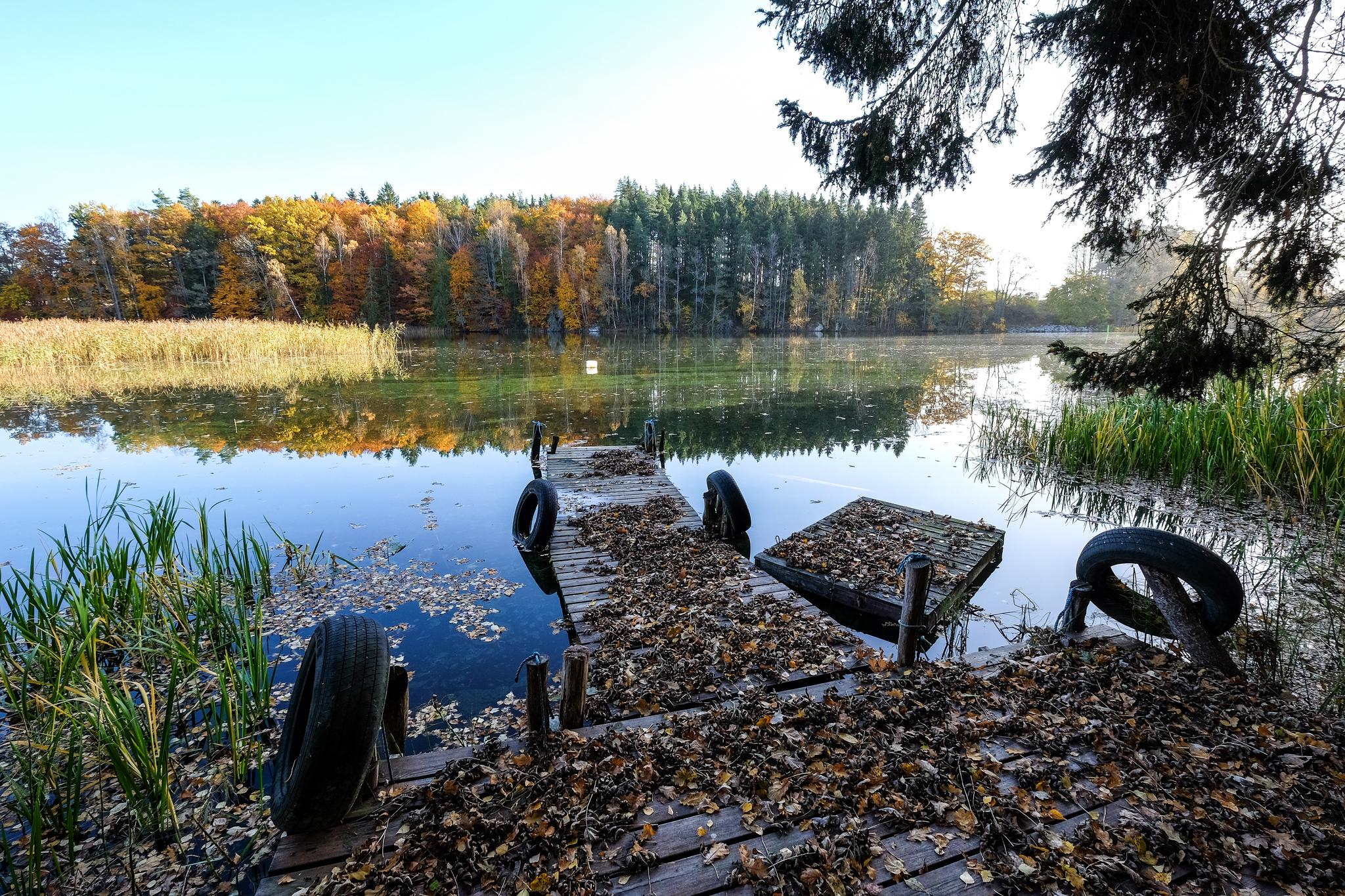 Осенний цветной канал, Эстеръётланд, Швеция