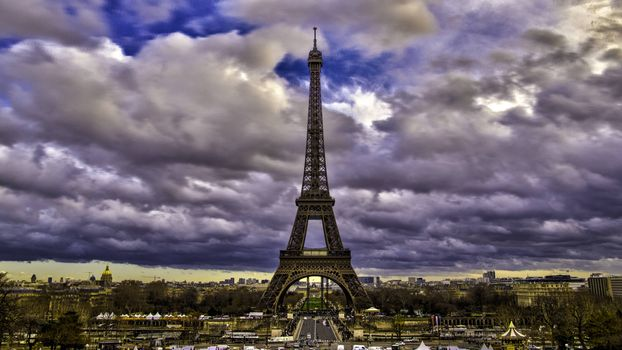 Beautiful pictures of the eiffel tower, france