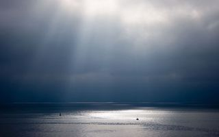 Photo free sea, yacht, horizon