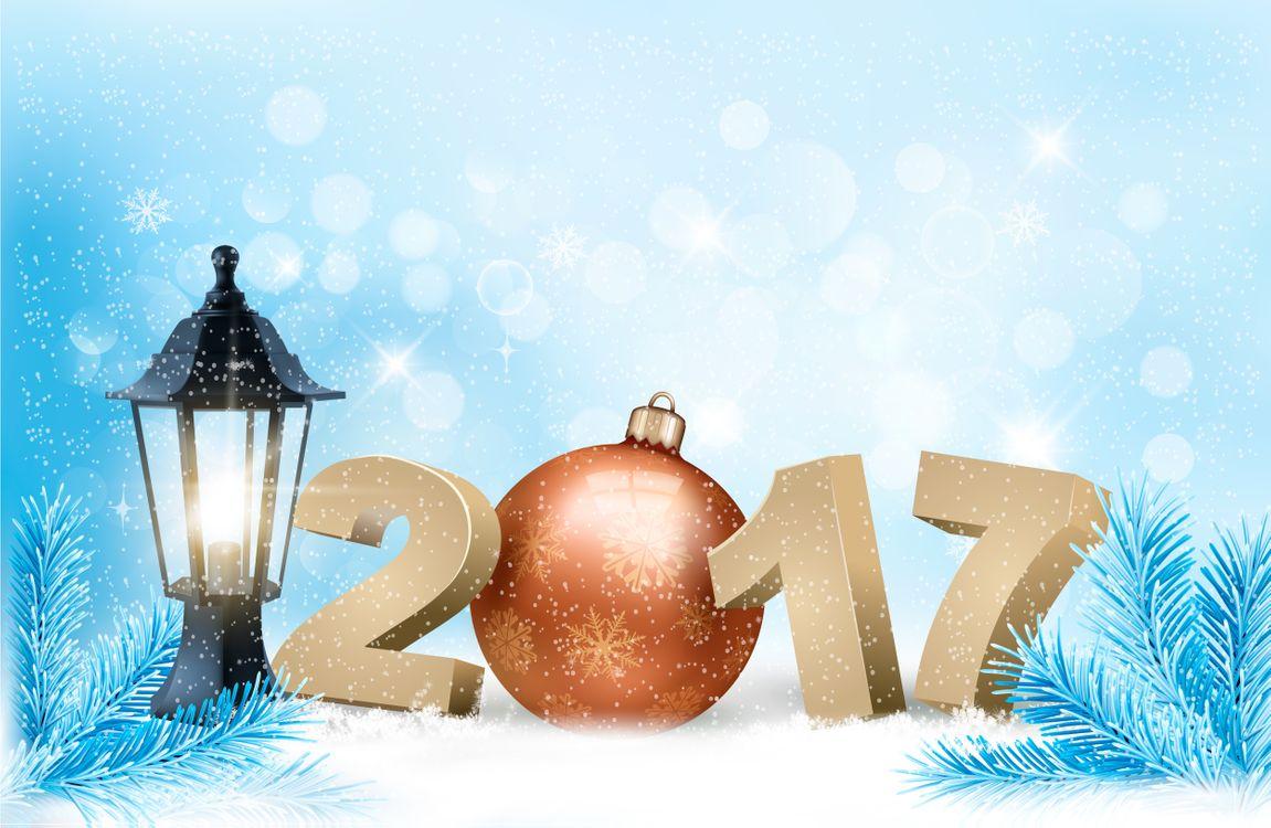 Картинка с новым 2017 годом, 2017, с новым годом, новогодние обои на 2017 год на рабочий стол. Скачать фото обои новый год