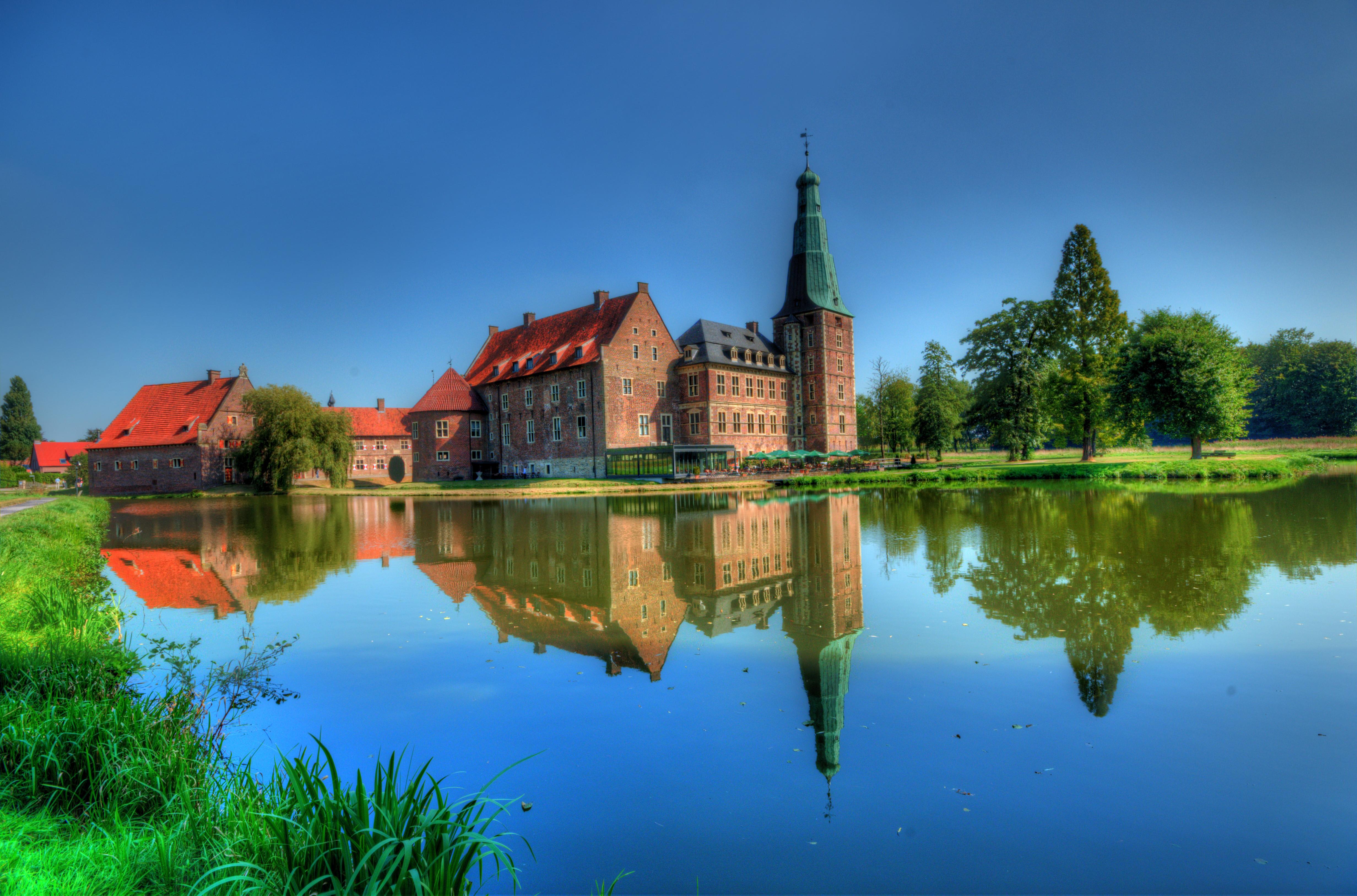 обои Замок Расфельд, Вассершлос, Германия картинки фото