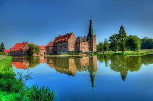Заставки Замок Расфельд, Вассершлос, Германия