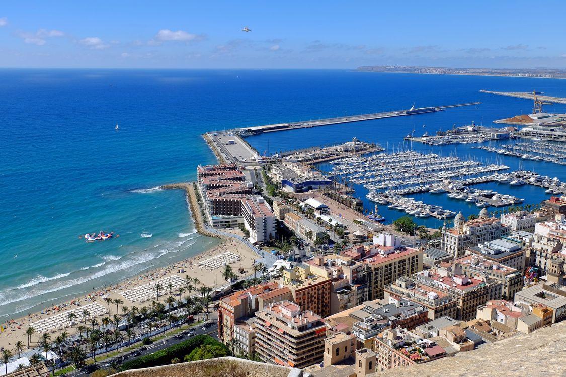 Фото бесплатно Alicante, Аликанте, Испания, город
