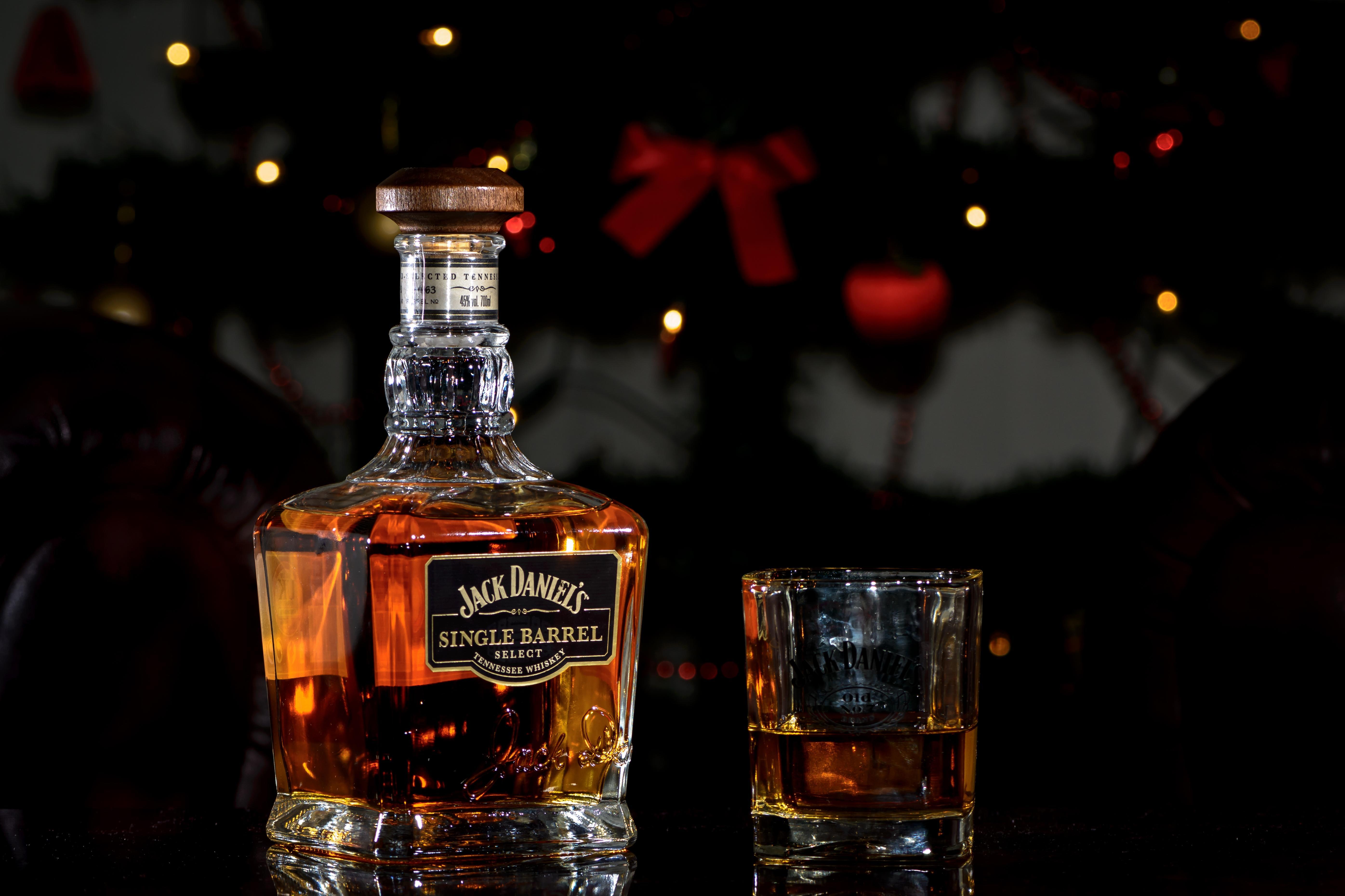 Обои Виски, Jack Daniels Single Barrel, напиток