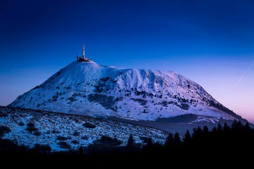 Фото бесплатно Клермон-Ферран, Франция, гора