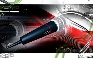 Photo 3d microphone