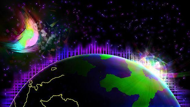 Фото бесплатно планеты, вселенная, вакуум