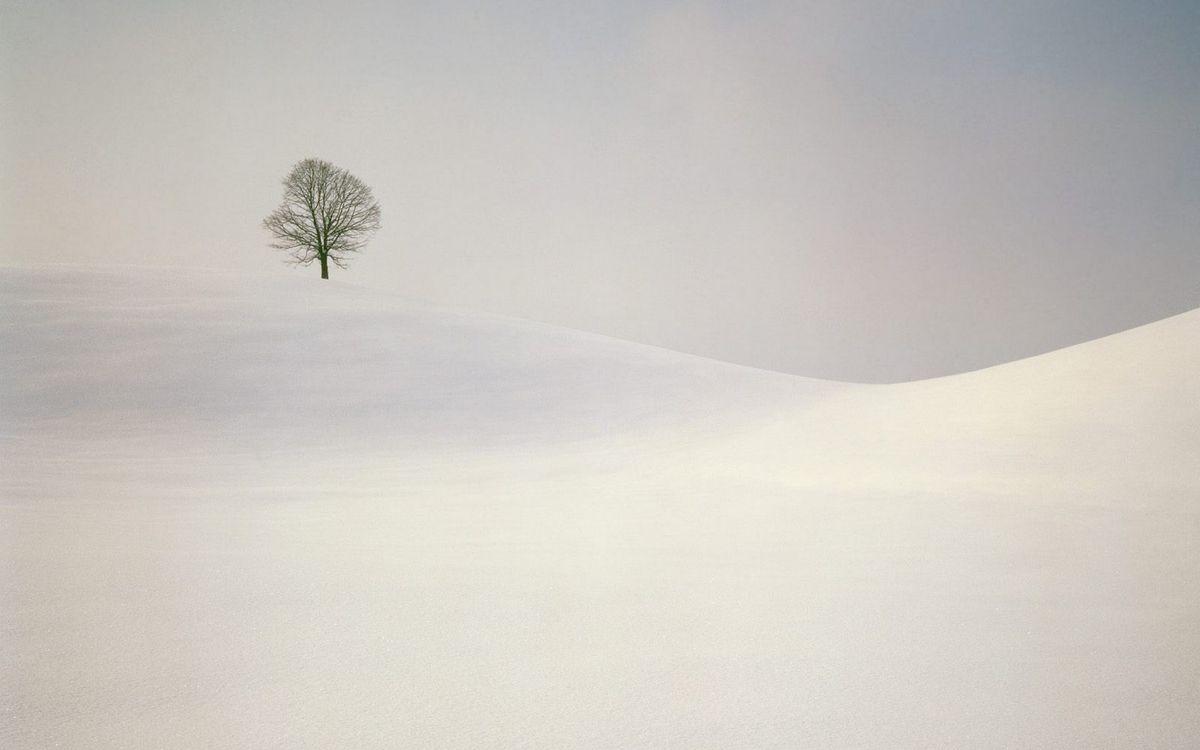 Фото бесплатно зима, холмы, снег - на рабочий стол