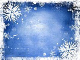 Поздравительная рождественская рамка