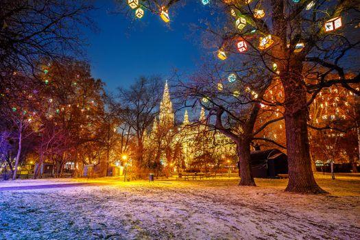 Фото бесплатно огни, освещение, нью-йорк