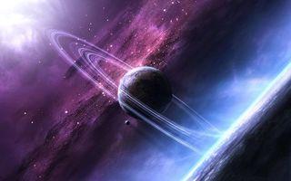 Бесплатные фото Космос,планета,Необъятные просторы космоса