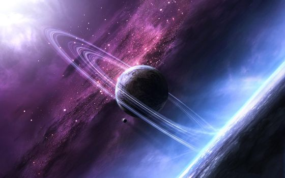 Скачать картинку планета, космос для рабочего стола бесплатно