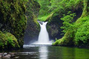 Фото бесплатно Punchbowl Falls, Eagle Creek, Columbia River Gorge