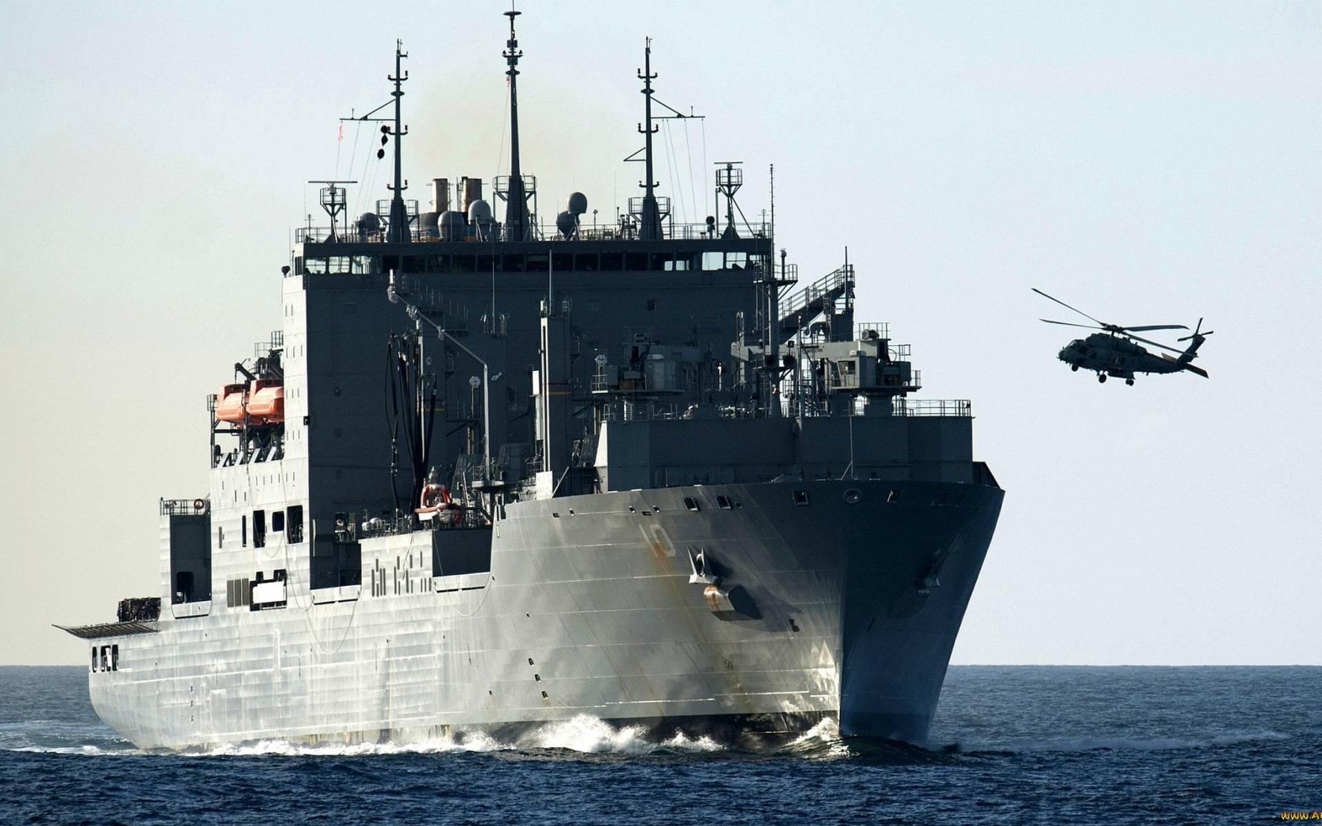море, корабль, палуба