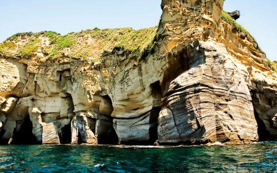 Photo free berg, sea, cliff