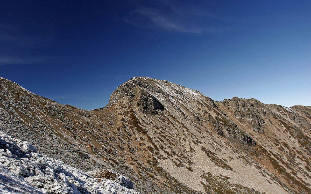 Фото бесплатно горы, вершины, камни, скалы, небо, природа, пейзажи