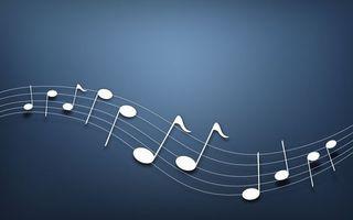Бесплатные фото нотный стан,ноты,белые,мелодия,композиция,заставка