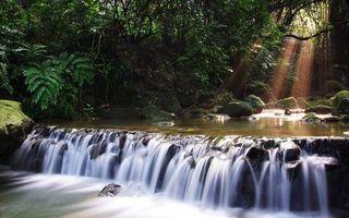 Фото бесплатно река, течение, порог