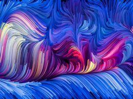 Нарисовано красками