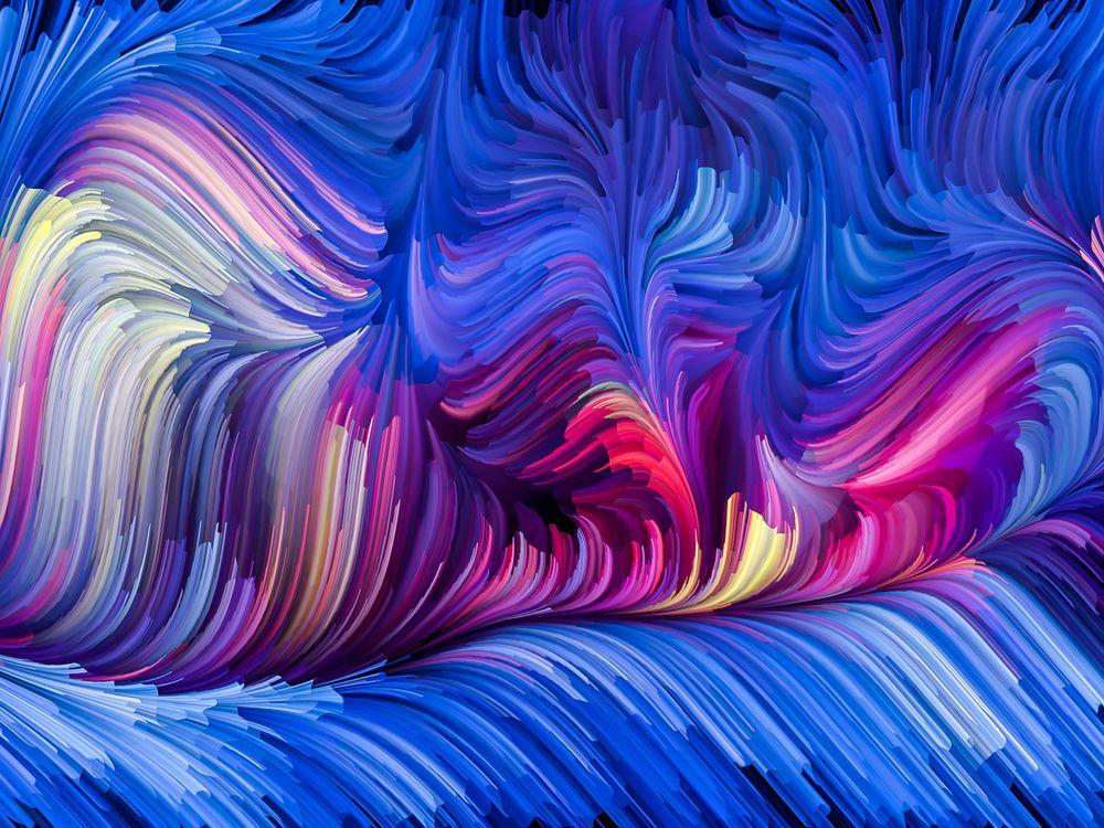Нарисовано красками · бесплатное фото