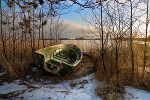 Бесплатные фото Keilaniemi,Espoo,Finland,зима,озеро,берег,лодка