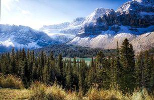Photo free Bow Lake, Alberta, Canada