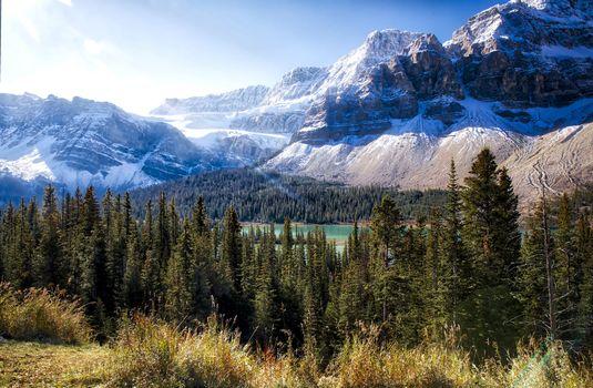 Бесплатные фото Bow Lake,Alberta,Canada