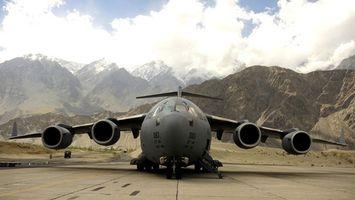 Фото бесплатно самолет, грузовой, крылья