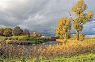 Фото бесплатно Loevestein Castle, Netherlands, осень