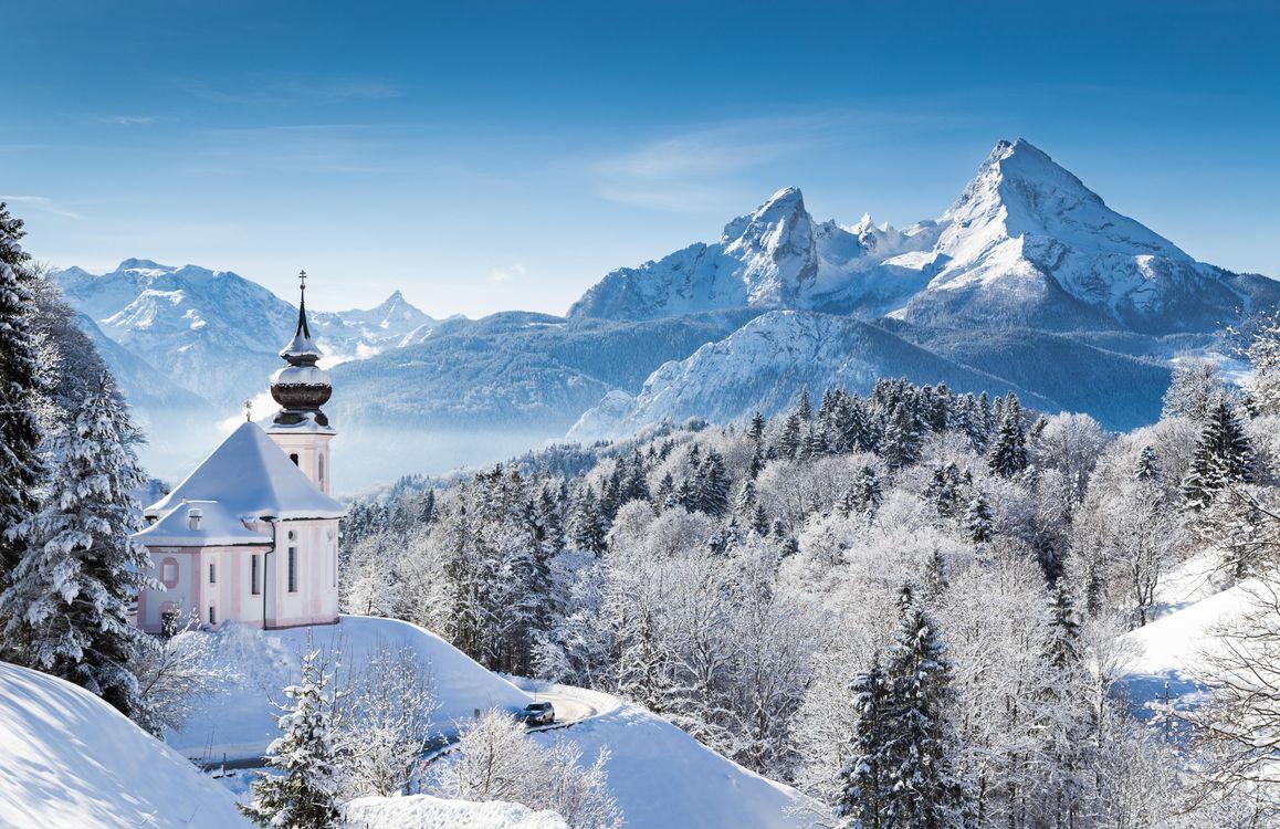 Фото бесплатно берхтесгаден, национальный парк, германия - на рабочий стол