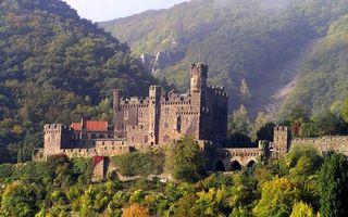 Бесплатные фото замок,крепость,кладка,камень,горы,растительность